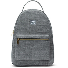 Herschel Nova Mid-Volume Backpack raven crosshatch
